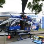 Helibras mostra novo helicóptero policial biturbina EC145 na LAAD