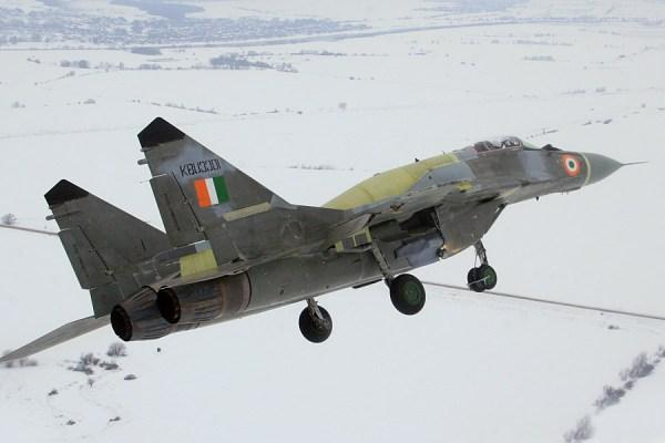 Força Aérea da Índia perdeu mais um caça em acidente aéreo.