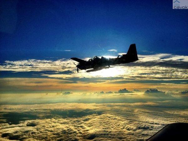 Os aviões Super Tucanos do Esquadrão Grifo estarão participando de uma operação em . (Foto: Ten. Dioneze / 2°/3° GAV)
