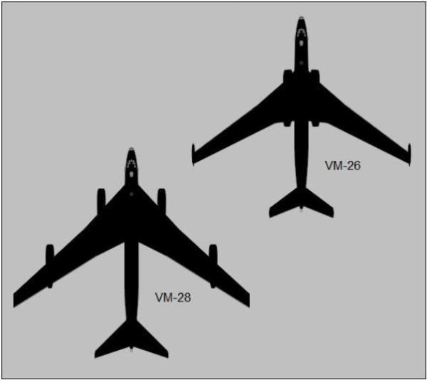 022 600x534 - Bombardeiros Soviéticos: Myasishchev M-4