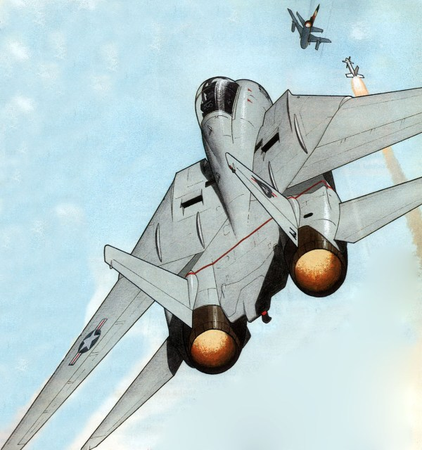 F-14 vs Su-22
