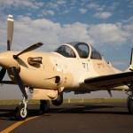 Pilotos afegãos vão começar a treinar com o A-29