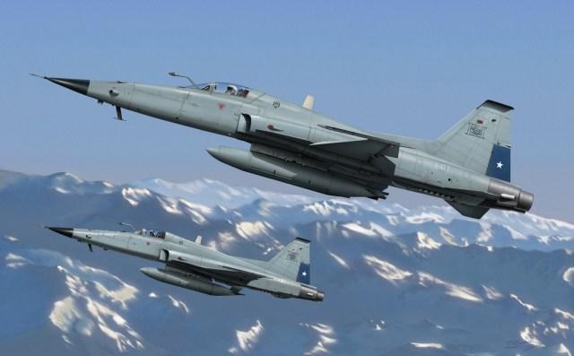 Chile e Argentina: O poderio aéreo do Cone Sul após a Guerra das Falklands/Malvinas.