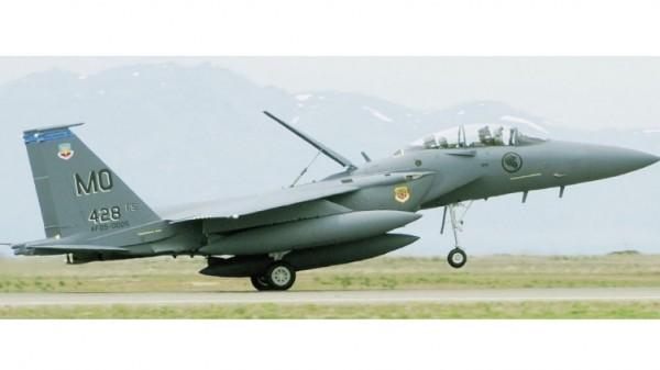 A RSAF sem alarde aumentou o tamanho de sua frota de F-15SG. (Imagem: USAF)
