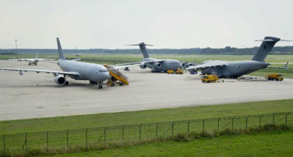 A330 MRTT e C-17 da RAAF.