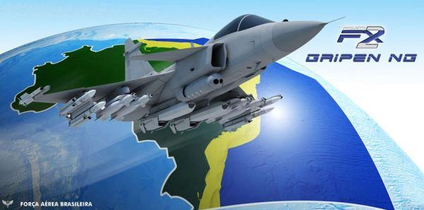 Até o momento apenas 36 caças Gripen confirmados.