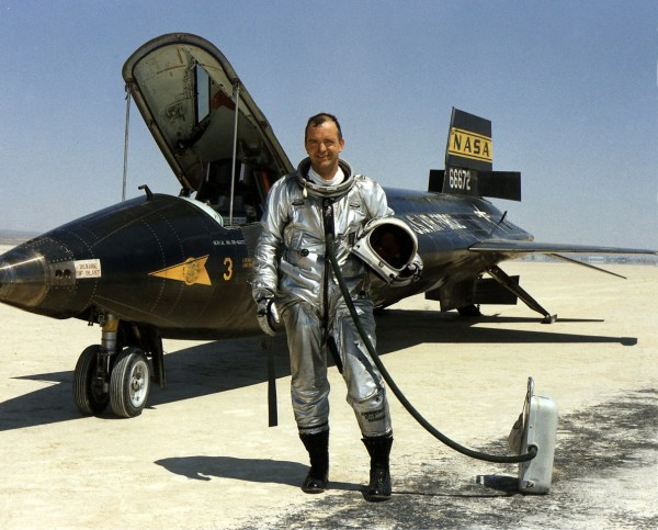 NASA pilot Bill Dana was the last man to fly the X-15 (the 199th flight in the series ) on Oct. 24, 1968.