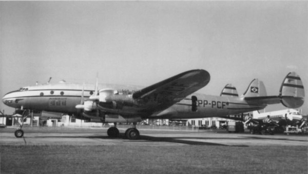 Panair do Brasil. PP-PCF, Lockheed L-049-46 Constellation Londres