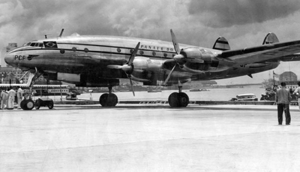 Panair do Brasil. PP-PCF, Lockheed L-049-46 Constellation