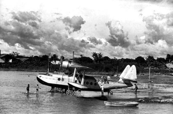 Panair do Brasil. Sikorsky S-43B Baby Clipper, matrícula PP-PBN (cn 4315).