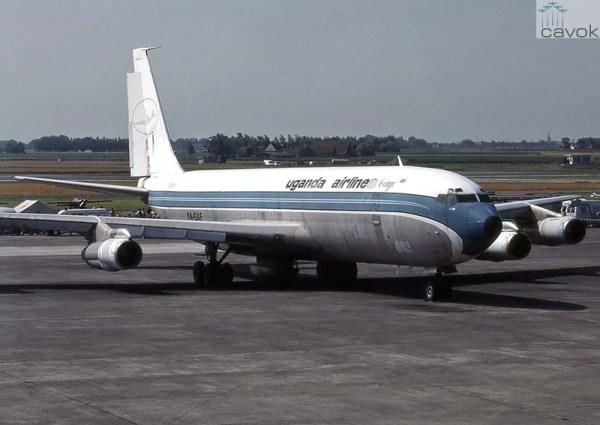 Após ser incorporado à F.A. Iugoslava, o ex-PP-VLN foi vendido à Balkh Airlines do Afeganistão, recebendo a matrícula YA-GAF e transladado para Ostende, Bélgica, de onde nunca delocalaria... (Foto: Michael Prophet)