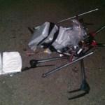 Drone com carga de droga cai na fronteira México-EUA