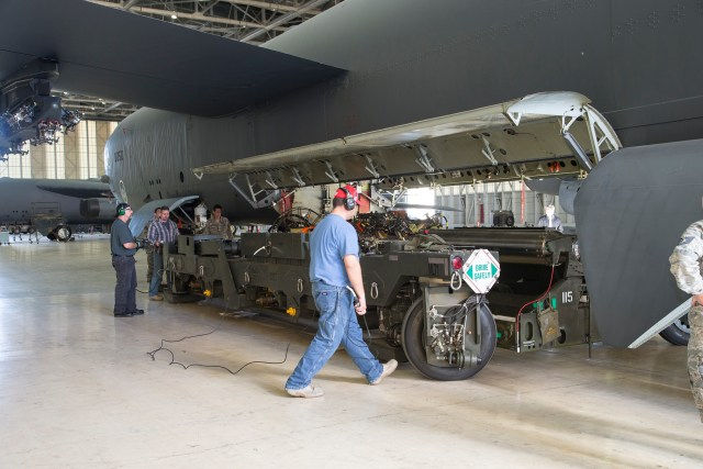 Bomber force prepares for new B-52 bomb bay upgrade testing