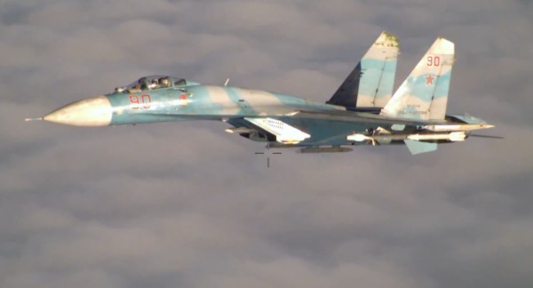 Su-27-intercepting-P-3