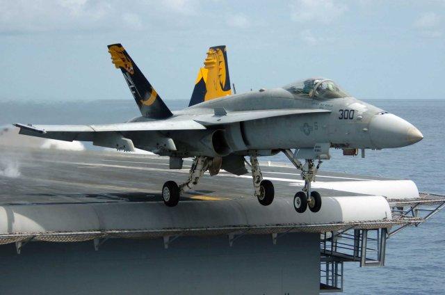 O APG-79(V)X permitirá ao Hornet legacy mais 15 a 20 anos de operacionalidade. (Imagem: ptisidiastima)