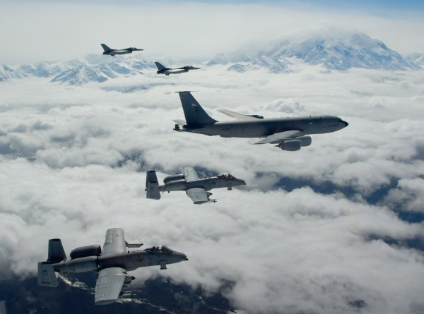 Final flight for fighters