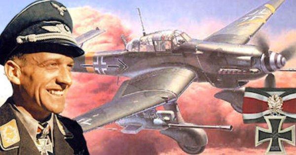 Stuka Pilot, Rudel, Hans Ulrich