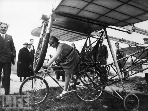 Baudot Flying Machine Jan 01, 1915 by amphalon