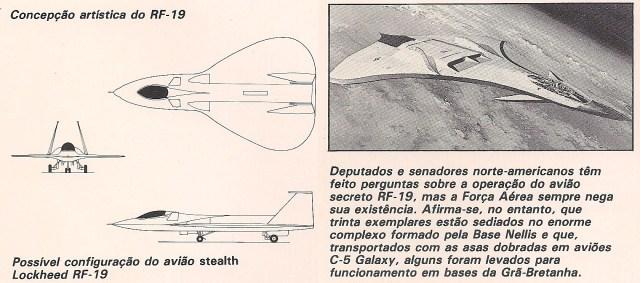F 19 2 - GUERRA FRIA: Como o mundo imaginava o F-117