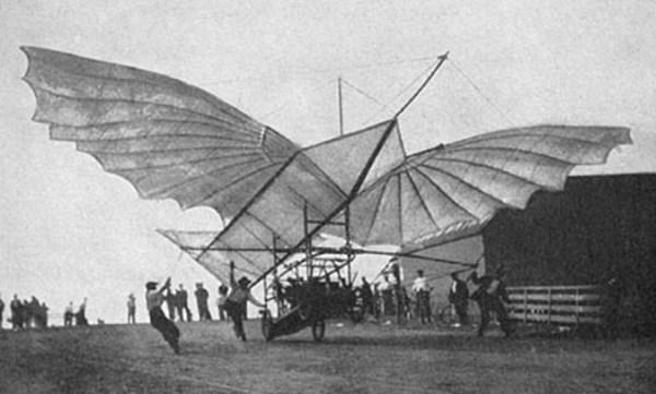 Whitehead's Large Albatross-type Glider - ca. 1905