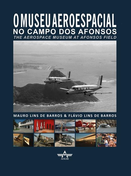 Capa do livro do Museu Aeroespacial que está disponível para venda na CavokStore.