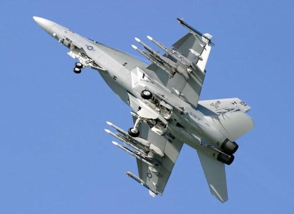 Boeing FA-18F Super Hornet (Foto - Frank Steinkohl)