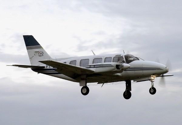 Embraer EMB-820C Navajo, idêntico à aeronave abatida por caças venezuelanos, procedente do Brasil (Foto - JetStream Aviation)