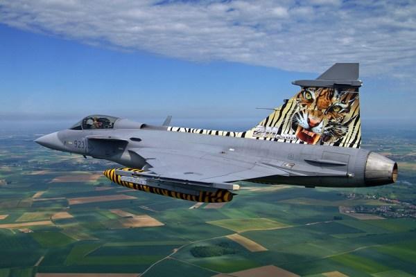 Saab JAS 39C Gripen - República Checa (Milan Nykodym) 3