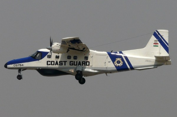 CG754 Indian Coast Guard Dornier Do-228-100, by Sean D'Silva