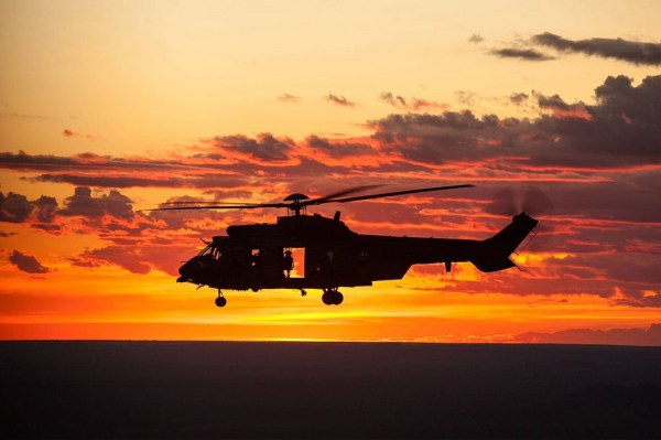 H-36 Caracal - Foto: Sgt Johnson, FAB