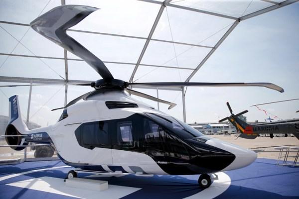 Helicóptero H160 passará por campanha extensa para testar capacidades e inovações ecologicamente corretas adotadas pela empresa. (Foto: REUTERS / Pascal Rossignol)