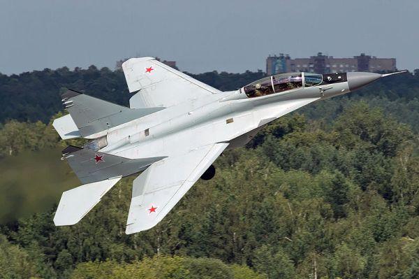 Um caça MiG-29-M2 da Força Aérea da Rússia. (Foto: Alex Beltyukov / Airliners)
