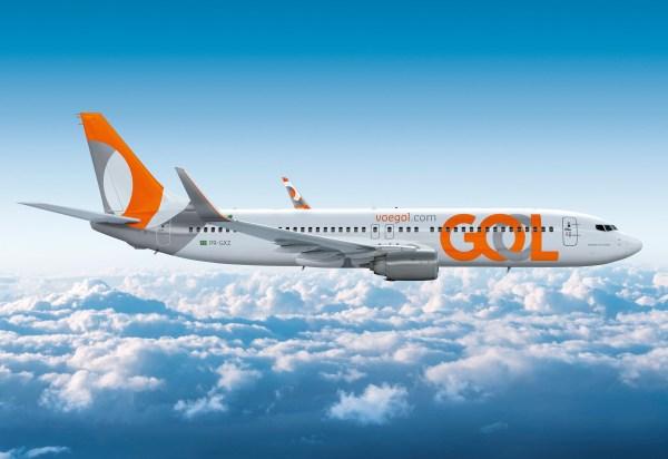 Nova identidade visual da companhia aérea GOL. (Foto: GOL Linhas Aéreas)