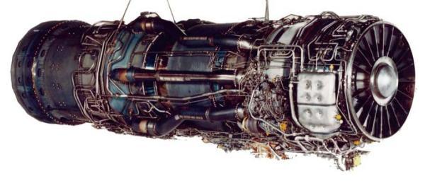 O A-12 foi concebido para ser propulsionado por dois motores Pratt & Whitney JT11D20 A, designados pelos militares como J58 - Pratt & Whitney