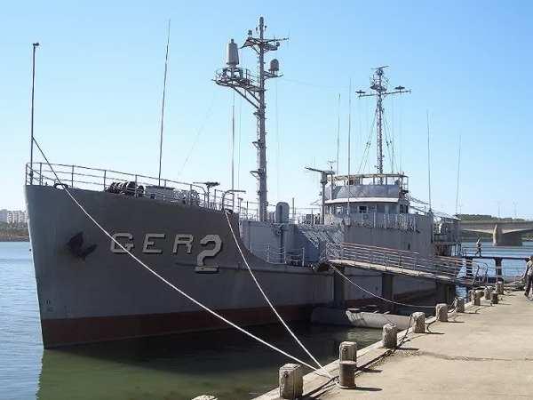 O USS Pueblo permanece na Coréia do Norte até hoje, onde virou atração turística - Roadrunners Internationale