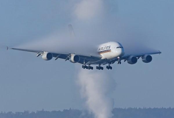 A380-800 da Singapore Airlines