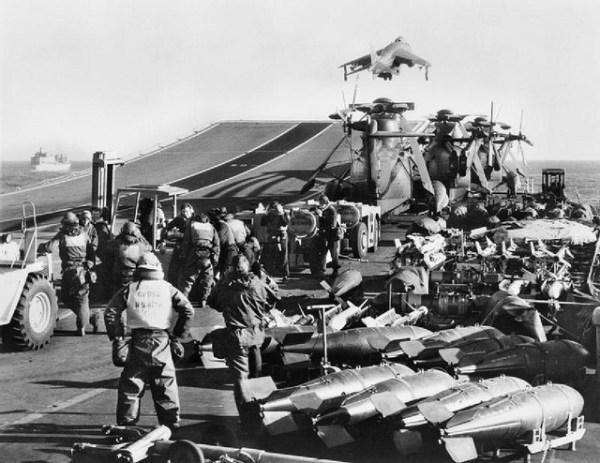A rampa foi usada em combate e provou ser um multiplicador de força.