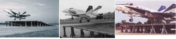 Raras imagens do Hornet de desenvolvimento #3 na rampa.