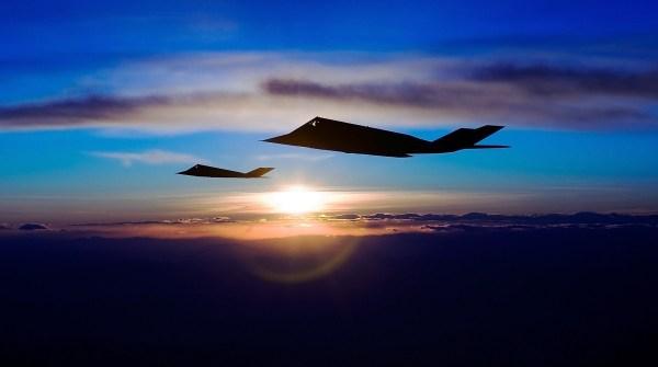 Lockheed F-117A Nighthawk - Kevin Jackson (USA - Nevada, February 2007)