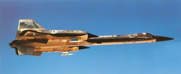 Lockheed YF-12A, Artigo 1001 (60-6934) – Lockheed Martin (1)