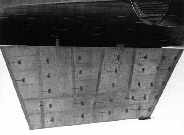 Novo estabilizador ventral, confeccionado em Lockalloy, instalado no Lockheed YF-12A, Artigo 1002 (60-6935) - NASA Dryden Flight Research Center
