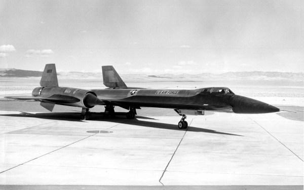 Segundo protótipo do Lockheed AF-12 (YF-12A), Artigo 1002 (60-6935) – James C. Goodall Collection