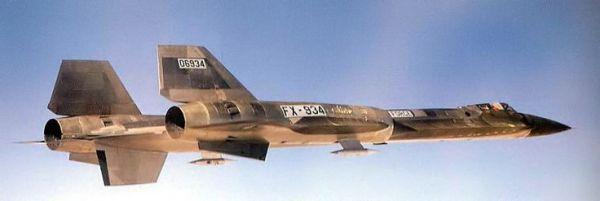 Voo de teste do primeiro protótipo do Lockheed AF-12 (YF-12A), Artigo 1001 (60-6934) – Lockheed Martin (1)