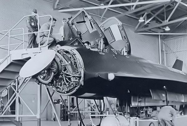 YF-12A Radar - Lockheed Martin