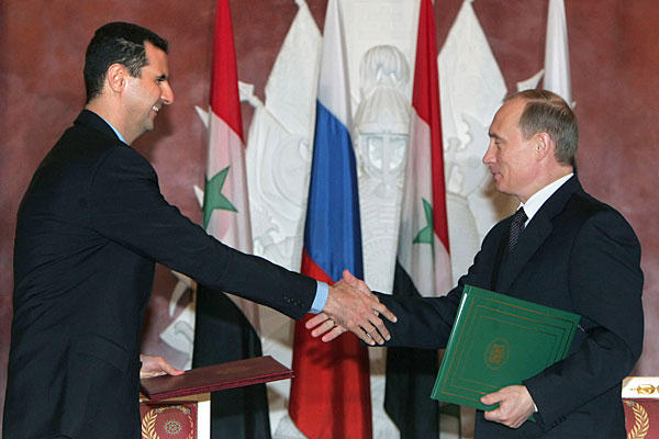 Assad-Putin
