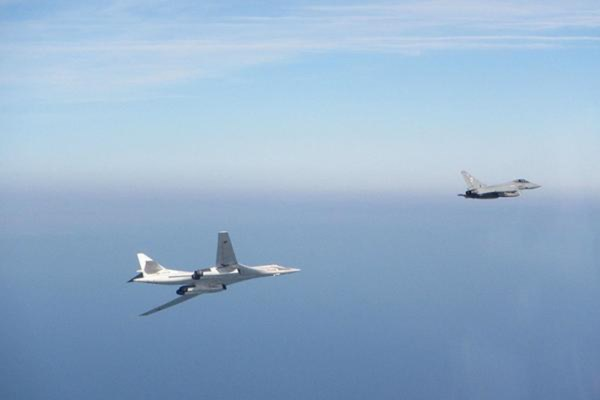 RAF Typhoons intercept Russian Tu-160 bomber near UK airspace 1
