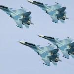 Imagens captadas por satélites confirmam presença de caças Sukhoi Su-30SM russos na Síria