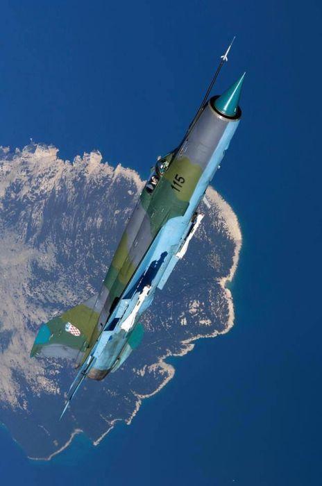 MiG-21 Croácia