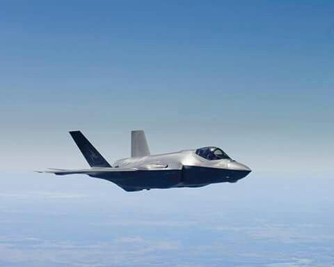 F-35 em voo