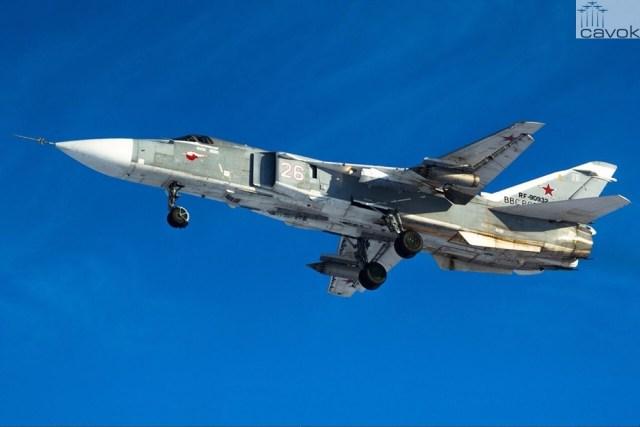 Su-24M (White 26 - RF-90932) - VKS, Foto - IlyaNightingale